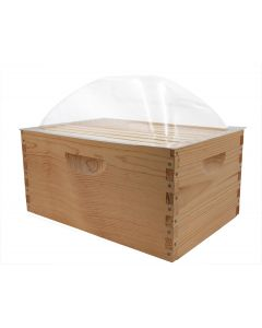 8-Frame Clear Dome Temporary Cover