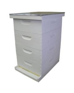 "10-Frame Medium 6 5/8"" Expanding Apiary Kit Commercial Assembled/Painted"