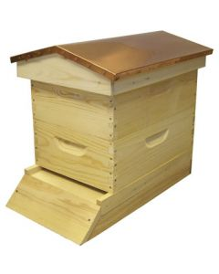 "8-Frame Medium 6 5/8"" Garden Hive Select Assembled"