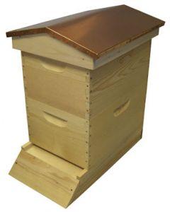 """8-Frame Deep 9 5/8"""" Garden Hive Assembled"""