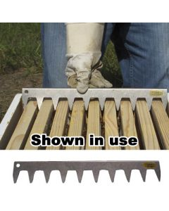 Stainless 9-Frame Spacing Tool for 10-Frame Hive