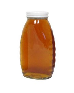 1 lb Classic Glass Honey Jars with Lids - 24 Pack