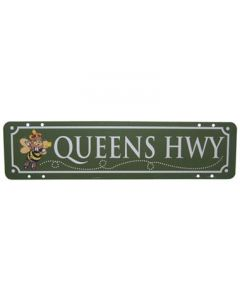 Queens Hwy Metal Sign - Each