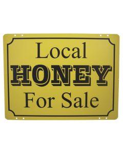 Metal Honey Sign - Each