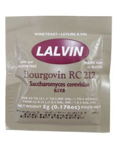 Lalvin Yeast RC 212 5 g