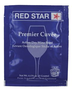 Red Star Premier Cuvee Yeast 5 g