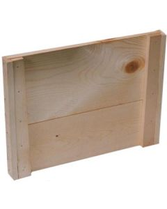 10-Frame Flat Wood Outer Cover Commercial Unassembled