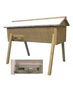 Top-Bar Hive with Metal Roof Select Assembled