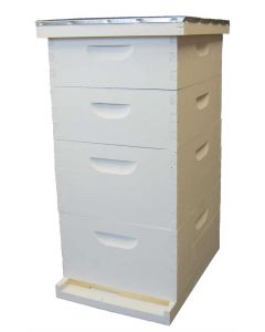 "10-Frame Deep 9 5/8"" Expanding Apiary Kit Commercial Assembled/Painted"