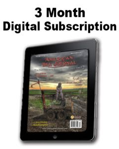 3 Month Digital Subscription American Bee Journal Magazine