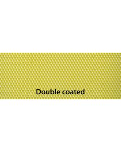 """Medium 5 1/2"""" X 16 3/4"""" Double Coated Yellow Plasticell - Each"""