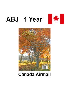 1 Year Canadian Subscription Airmail American Bee Journal