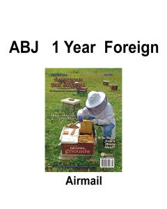 1 Year Foreign Subscription Airmail American Bee Journal