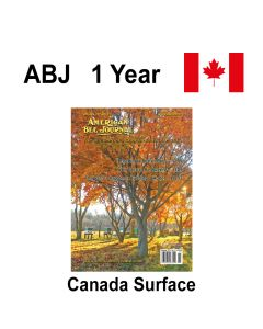 1 Year Canadian Subscription Surface Mail American Bee Journal