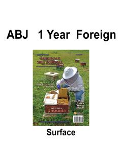 1 Year Foreign Subscription Surface Mail American Bee Journal