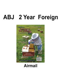 2 Year Foreign Airmail Subscription American Bee Journal