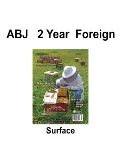 2 Year Foreign Surface Mail Subscription American Bee Journal