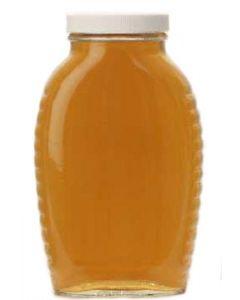 2 lb Queenline Jars with Lids - 12 Pack