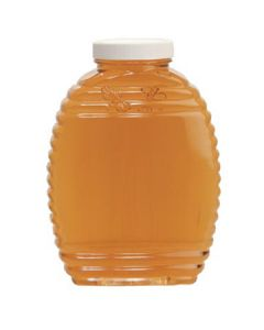2 1/2 lb Plastic Honey Bee Bottles without Lids - 6 Pack