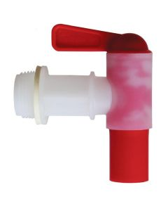 3/4 Plastic Faucet for Cap for 60 lb Pail - Each