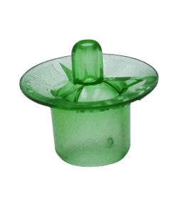 Wide-Base Cell Cups Green - 100 Pack