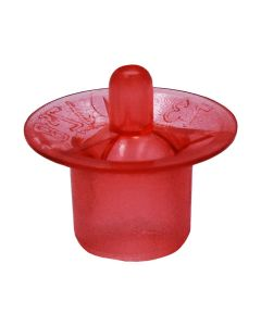 Wide-Based Cell Cups Red - 100 Pack