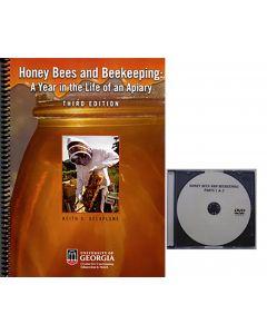 Honey Bees & Beekeeping Set of Book & DVD