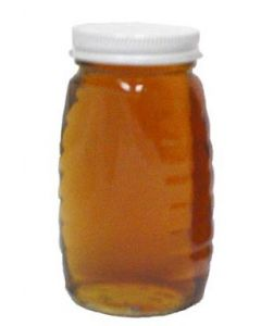 8 oz Classic Glass Honey Jars with Lids - 24 Pack