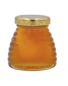 3 oz Glass Skep Jar with Lids - 24 Pack