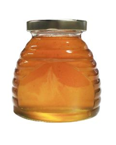 12 oz Glass Skep Jar with Lids - 12 Pack