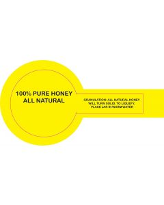 48 mm Security Label - 250 Pack