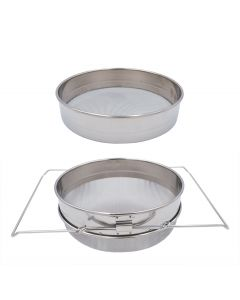 Double Sieve Stainless Strainer Filter