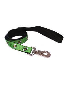 "Dog Leash Green/Black 70"""