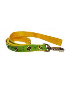 "Dog Leash Green/Yellow 70"""