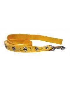 """Dog Leash Yellow/Yellow 70"""""""