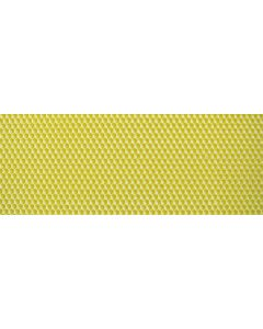 "Medium 5 1/2"" X 16 3/4"" Single Coated Yellow Plasticell - Each"