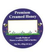 Labels for Creamed Honey Containers - 25 Pack