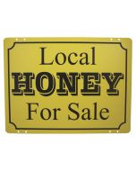 Metal Honey Sign - Each