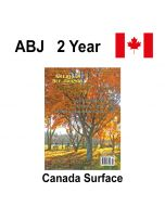2 Year Canadian Surface Mail Subscription American Bee Journal